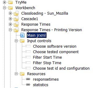 Configured repository with subreports